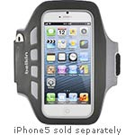 Belkin Ease-Fit Plus Armband, Blacktop for iPhone5 F8W106TTC00