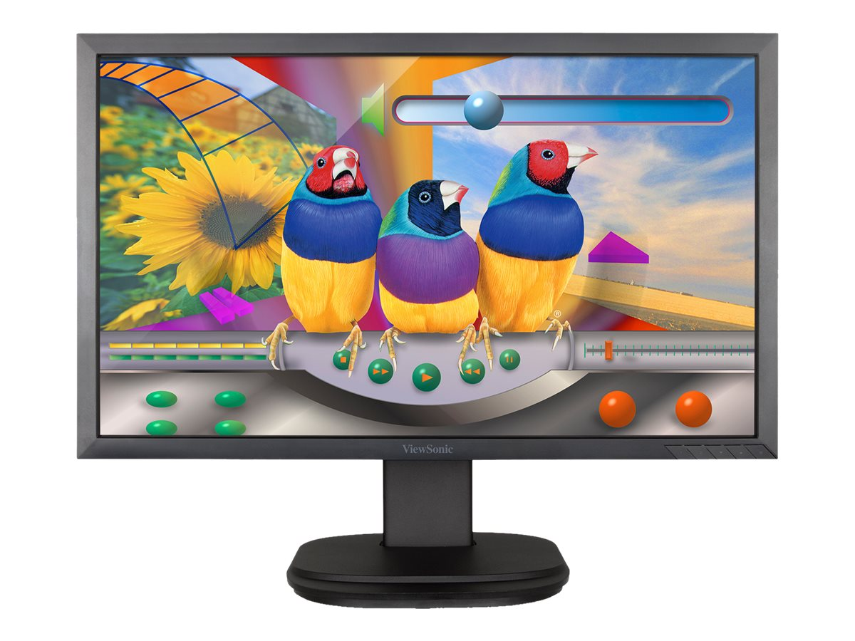 ViewSonic 24 VG2439SMH LED-LCD Monitor, Black, VG2439SMH