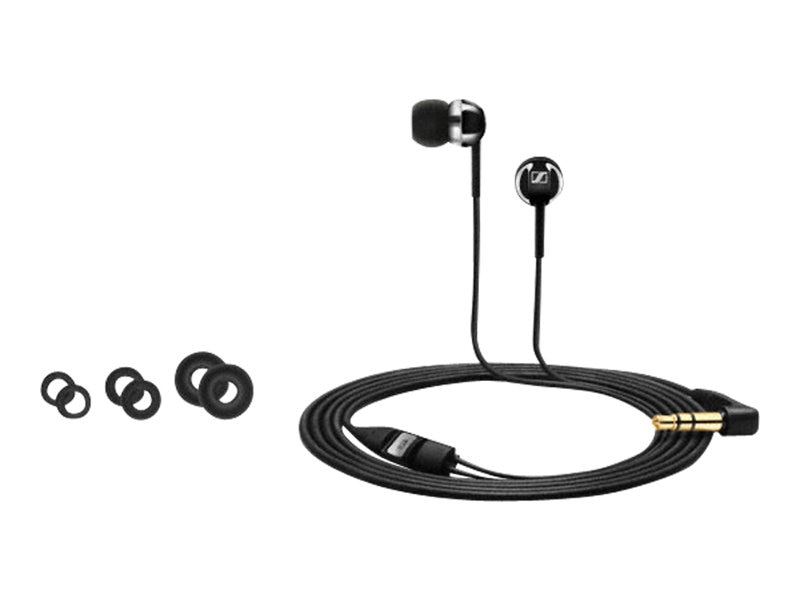 Sennheiser Mobile Headphones - Black, CX1.00 Black