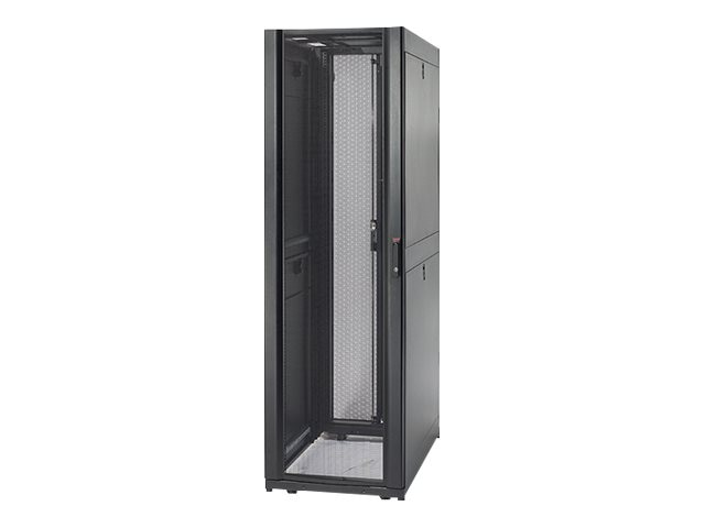 APC Netshelter SX 42U 600mm x 1070mm Enclosure, Black, 1250 lb. Shock Packaging, AR3100SP1, 6856221, Racks & Cabinets