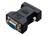 Syba Digital DVI to Analog VGA M F Connector Converter, CL-ADA31002, 31260569, Adapters & Port Converters