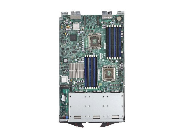Supermicro Processor Blade, Xeon 5500 Series Support, Max 96GB DDR3, 3x2.5 SATA HS Bays, SBI-7426T-S3