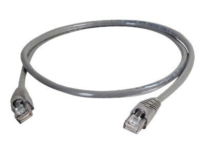 C2G Cat5e Snagless Patch Cable, Gray, 20ft - TAA, 10274