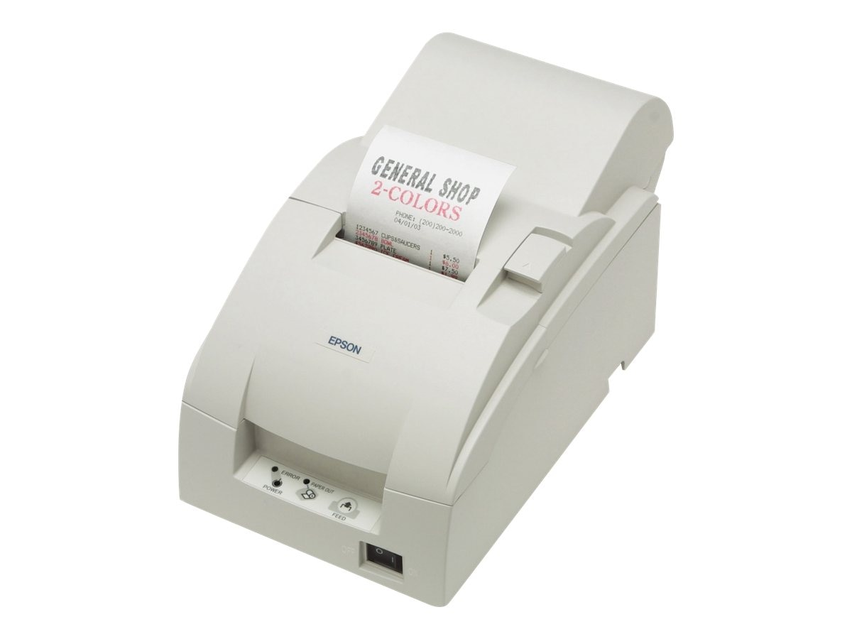 Epson TM-U220A Serial Receipt Printer w  Auto Cutter & Power Supply, C31C513103