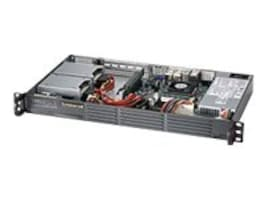 Supermicro Chassis, SuperChassis 504 Mini 1U RM 2xBays 200W PSU, Black, CSE-504-203B, 16301131, Cases - Systems/Servers