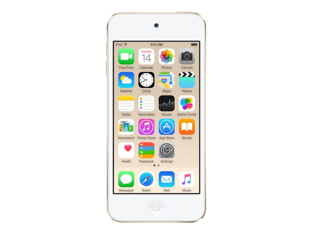 Apple 16GB iPod touch - Gold, MKH02LL/A, 26410374, DMP - iPod Touch