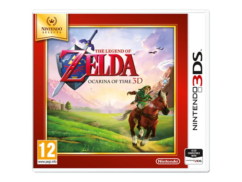 Nintendo The Legend of Zelda: Ocarina of Time, 3DS