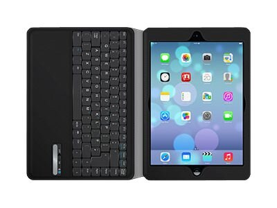 Griffin Slim Keyboard Folio for iPad Air and Air 2, Black, GB38369, 16402071, Keyboards & Keypads