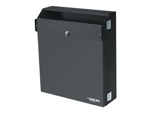 Black Box Low-Profile Secure Wallmount Cabinet, 4U