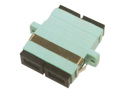 ACP-EP SC to SC F F MMF OM3 Duplex Fiber Optic Adapter, ADD-ADPT-SCFSCF3-MD