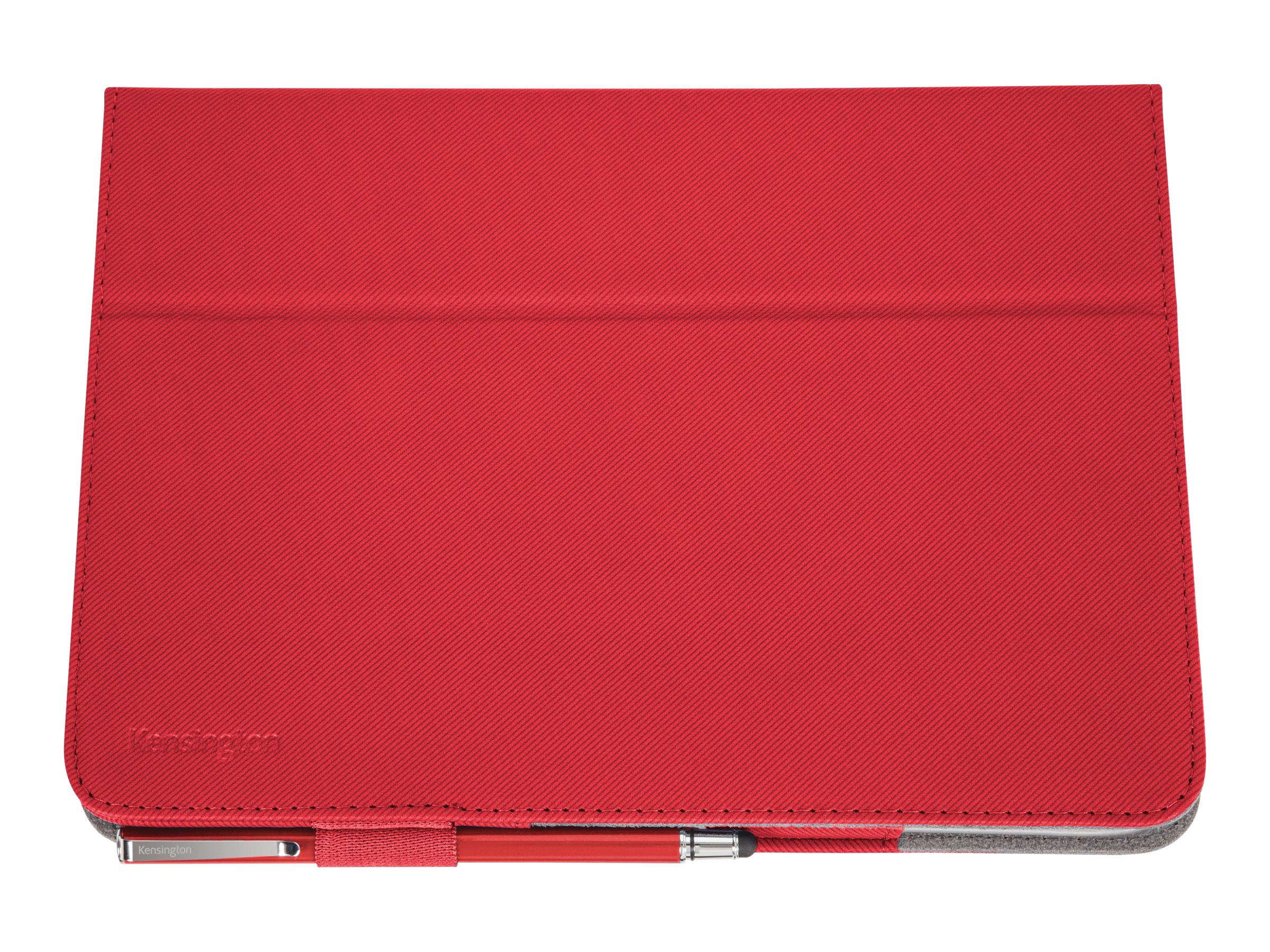 Kensington Comercio Soft Folio Case & Stand for Galaxy Tab 3 10.1, Red, K97113WW