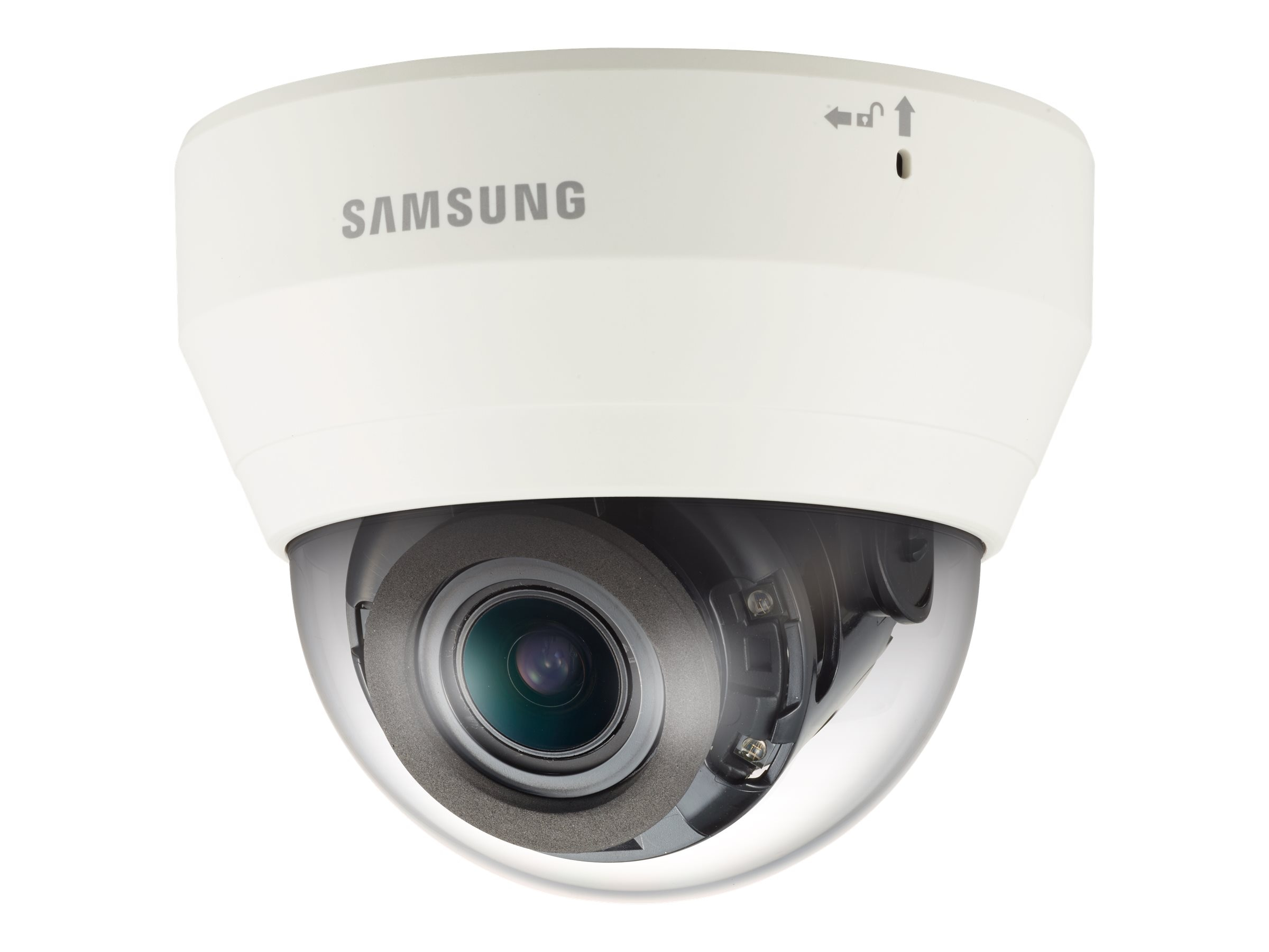 Samsung 4MP Indoor Dome Camera with 2.8-12mm Lens, QND-7080R