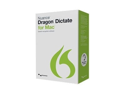 Nuance Dragon Dictate for Mac 4.0 US DVD English Ketcard Retail, S601B-G00-4.0, 29658771, Software - Voice Recognition