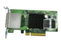Qnap Dual-Port SAS 6Gbps Storage Expansion Card, SAS-6G2E-U, 17362817, Storage Controllers