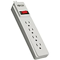 Tripp Lite Power It! Power Strip (4) Outlets 10ft Cord, PS410, 15153077, Power Strips