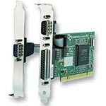 Brainboxes 2-Port RS232 PCI Serial Card with LPT Parallel Printer Port
