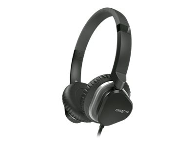 Creative Labs HITZ MA2400 Headset, Black, 51EF0640AA008