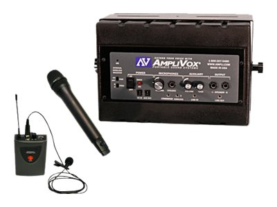 AmpliVox Portable Sound Systems SW1230 Image 2