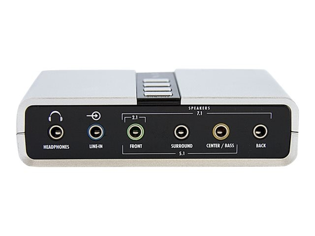 StarTech.com 7.1 USB Audio Adapter External Sound Card w  SPDIF Digital Audio, ICUSBAUDIO7D, 10170038, Sound Cards