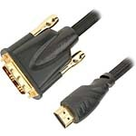 Professional HDMI to DVI (M-M) Cable, 2m