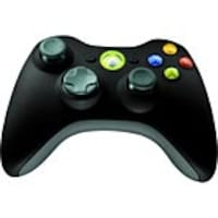Microsoft Xbox 360 Wireless Controller, Black, NSF-00023, 15494681, Video Gaming Accessories