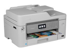 Brother MFC-J5830DW XL Business Smart Plus All-In-One w  (16) INKvestment Cartridges, MFC-J5830DWXL, 33117598, MultiFunction - Ink-Jet