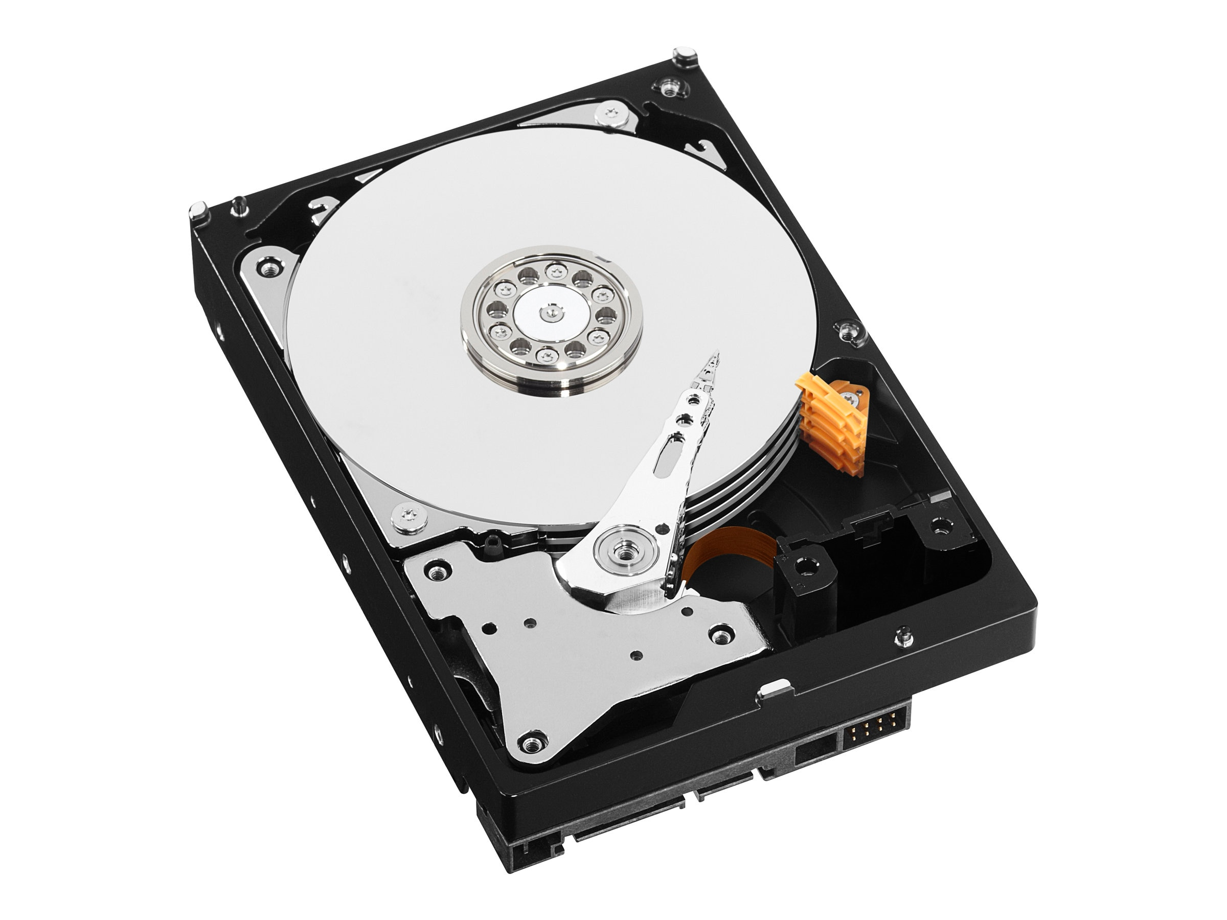 WD 6TB WD Red SATA 6Gb s 3.5 Internal NAS Hard Drive, WD60EFRX