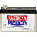 American Battery Replacement Battery Cartridge APCRBC110 for APC BE550G and BE550R