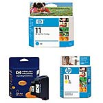 HP 11 Color Combo Original Ink Pack, C4836A/C4837A/C4838A, 15528609, Ink Cartridges & Ink Refill Kits