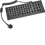 Zebra Symbol USB 65-key QWERTY Keyboard, Backlit, IP66 Sealing, Secured USB-A, KYBD-QW-VC70-01R, 15546954, Keyboards & Keypads