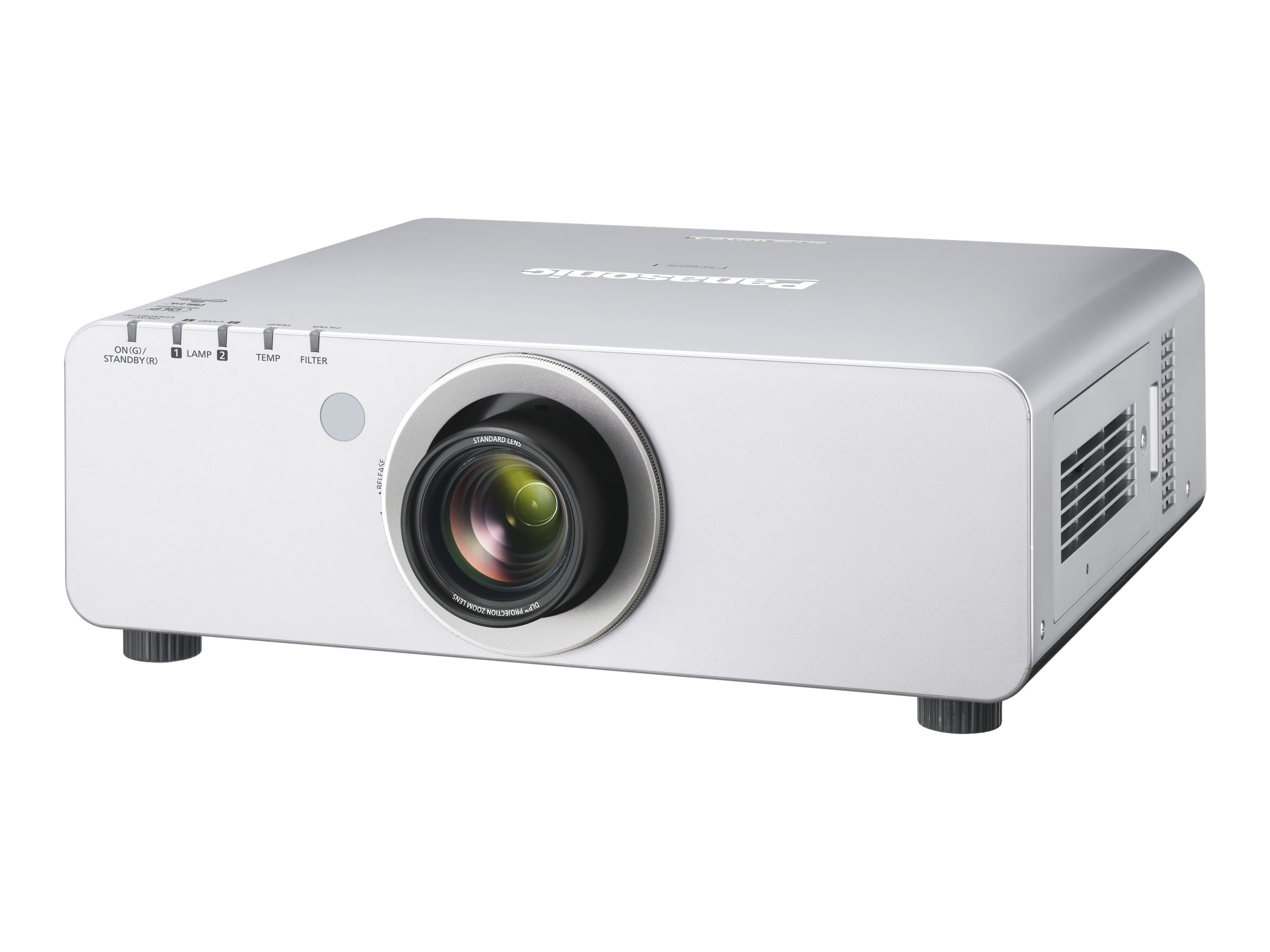 Panasonic PT-DZ770US Full HD DLP Projector, 7000 Lumens, PTDZ770US