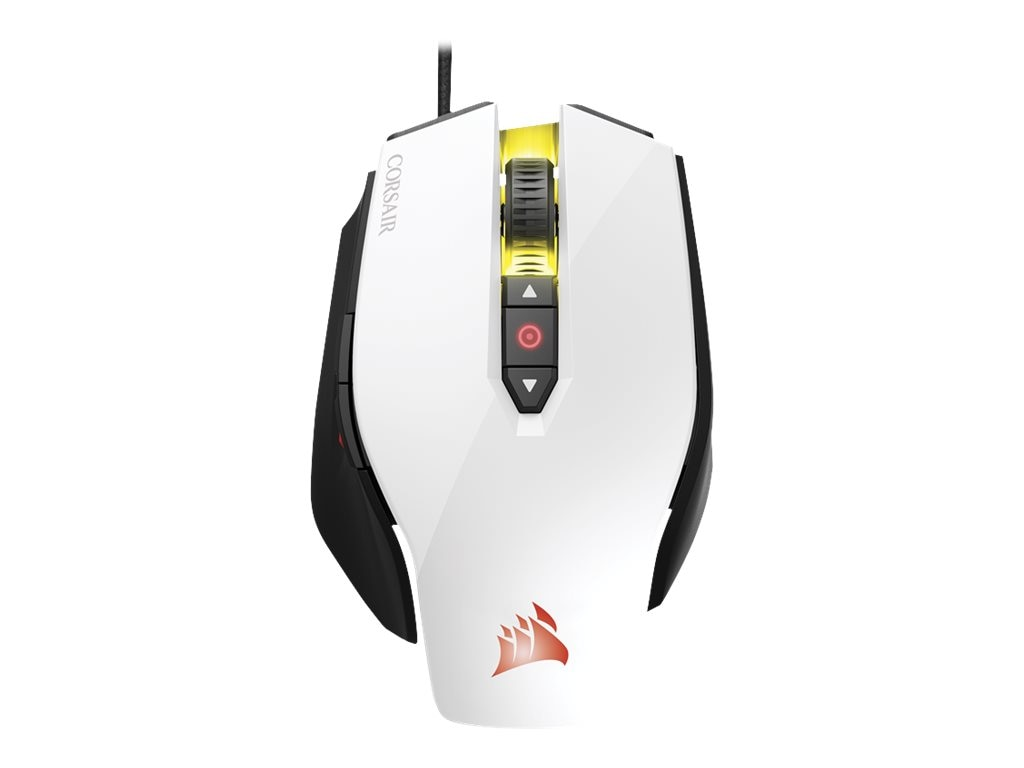 Corsair M65 Pro RGB FPS Gaming Mouse, White