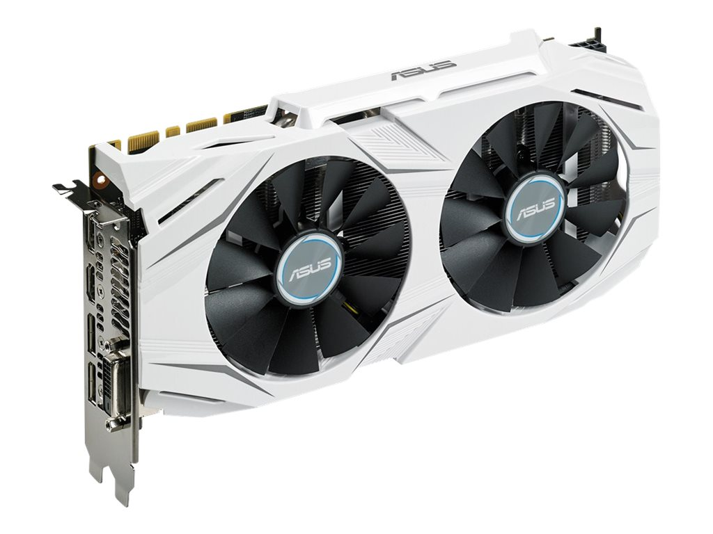 Asus GeForce GTX 1070 PCIe 3.0 Overclocked Graphics Card, 8GB GDDR5, DUALGTX1070O8G