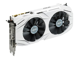 Asus GeForce GTX 1070 PCIe 3.0 Overclocked Graphics Card, 8GB GDDR5, DUALGTX1070O8G, 32424174, Graphics/Video Accelerators