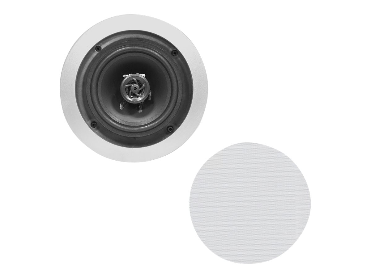 Pyle 8 Two-Way In-Cieling Speaker System - White, PDIC81RDSL