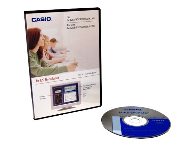 Casio FX-300ES Manager SW - Single L, FXESEMULATOR, 12887753, Software - Educational