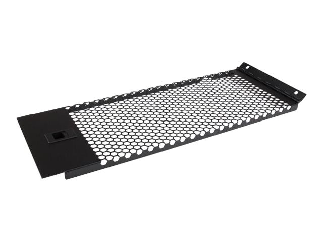 StarTech.com Vented Blank Panel w  Hinge for Server Racks, 4U
