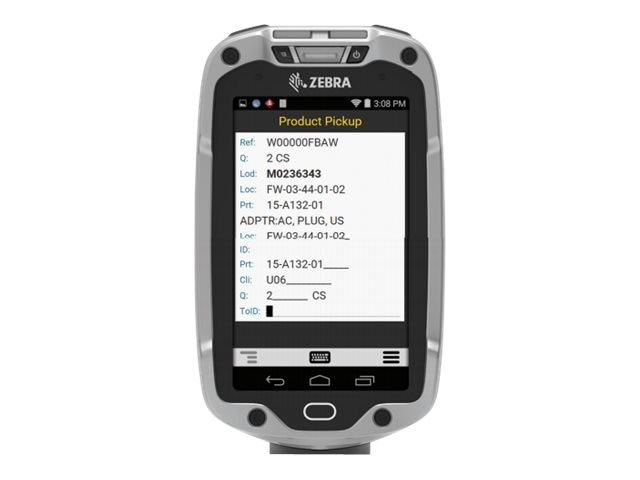 Zebra Symbol TC8000 802.11abgn BT 4 2D Std SE4750SR 8MP 1GB 8GB Android KK 4.4, TC80N0-1101K42ENA