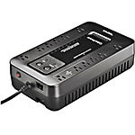 CyberPower ECO Series 750VA 450W Simulated Sine Wave Standby Tower UPS (12) Outlets