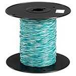 Black Box Cross-Connect Wire, 1-Pair, White Green, 1000ft