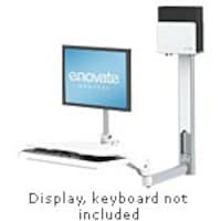 Enovate e997 Arm with eDesk & Extended Wall Mount System, T-9E-00-00, 15920310, Wall Stations