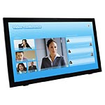 Planar Helium 24 PCT2485 Full HD Multi-Touch Screen LED Monitor with Webcam, Black