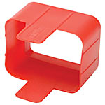 Tripp Lite Plug-Lock Inserts for C20 Power Cords , Red (100-pack)