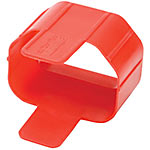 Tripp Lite Plug-Lock Inserts for C14 Power Cords , Red (100-pack)