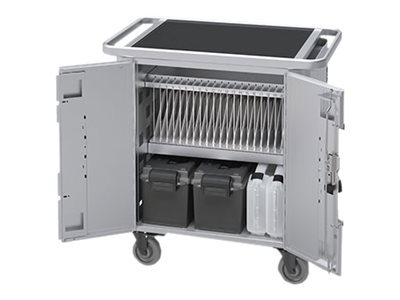 Bretford Manufacturing PureCharge Cart 20 for iPad, iPad Mini, HGFN2BG1, 20726984, Computer Carts