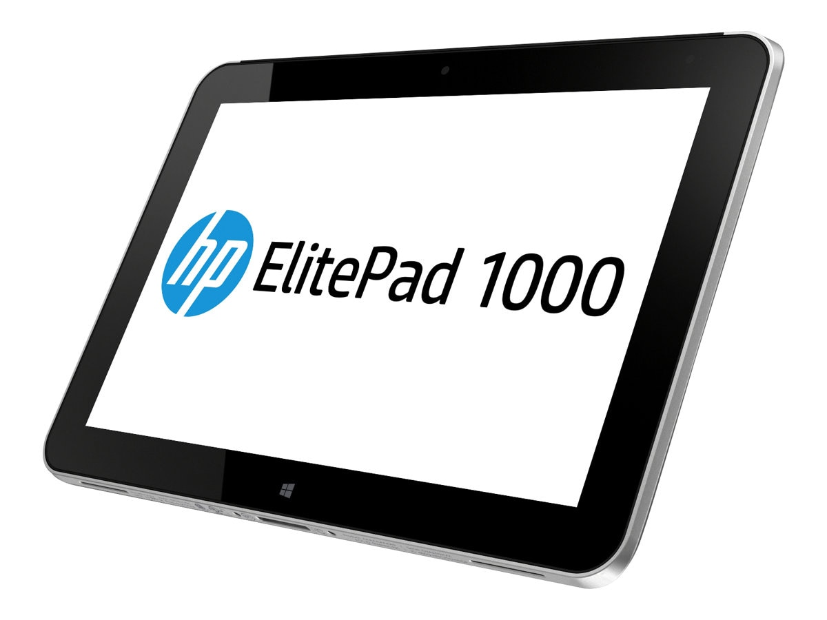 HP ElitePad 1000 G2 1.6GHz processor Windows 10 Pro 64-bit Edition, T5N75AW#ABA