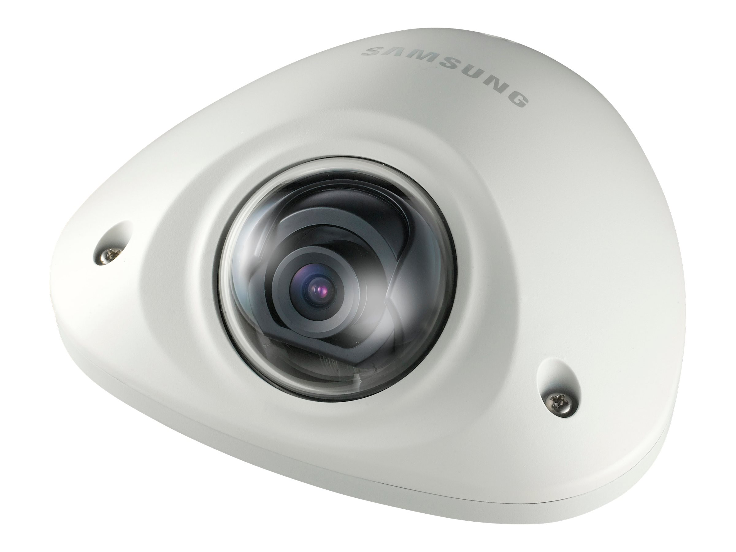 Samsung 2MP 1080p Full HD Vandal-Resistant Network Mobile Flat Camera