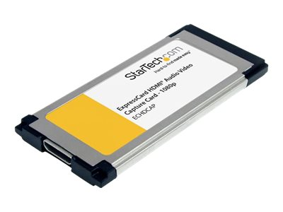 StarTech.com HDMI to ExpressCard HD Video Capture Card Adapter 1080p, ECHDCAP
