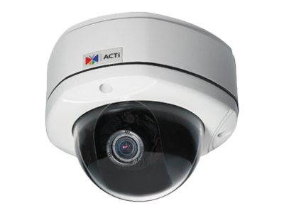 Acti KCM-7311 3.6x Zoom H.264 4-Megapixel IP D N Vandal Proof PoE Rugged Dome with P-Iris & ExDR
