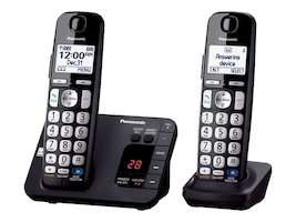 Panasonic Expandable Digital Phone w  Answering Machine & (2) Cordless Handsets, KX-TGE232B, 17487003, Telephones - Consumer
